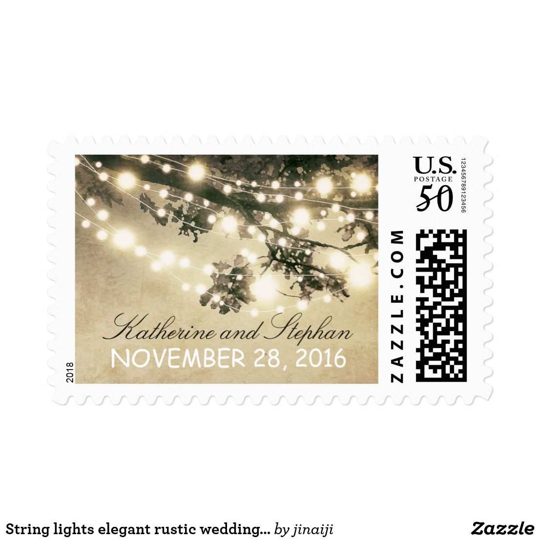 Wedding decorations with lights november 2018 String lights elegant rustic wedding postage stamp Rustic country