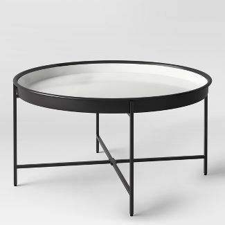 Round Coffee Tables Target Target Coffee Table Black Coffee