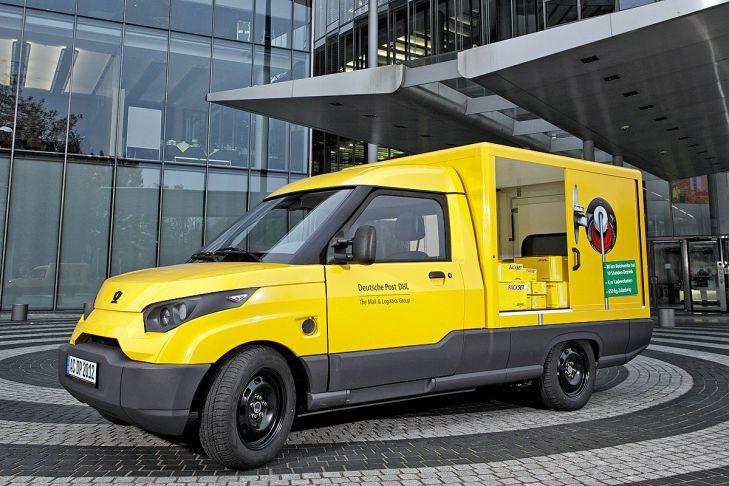 EAutos für die Post Elektroauto, Elektro und Autos