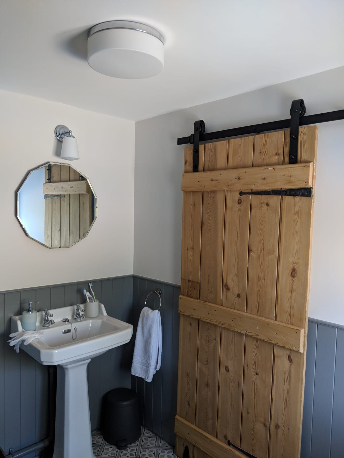 Photo of Add a traditional feel to your home with sliding barn doors