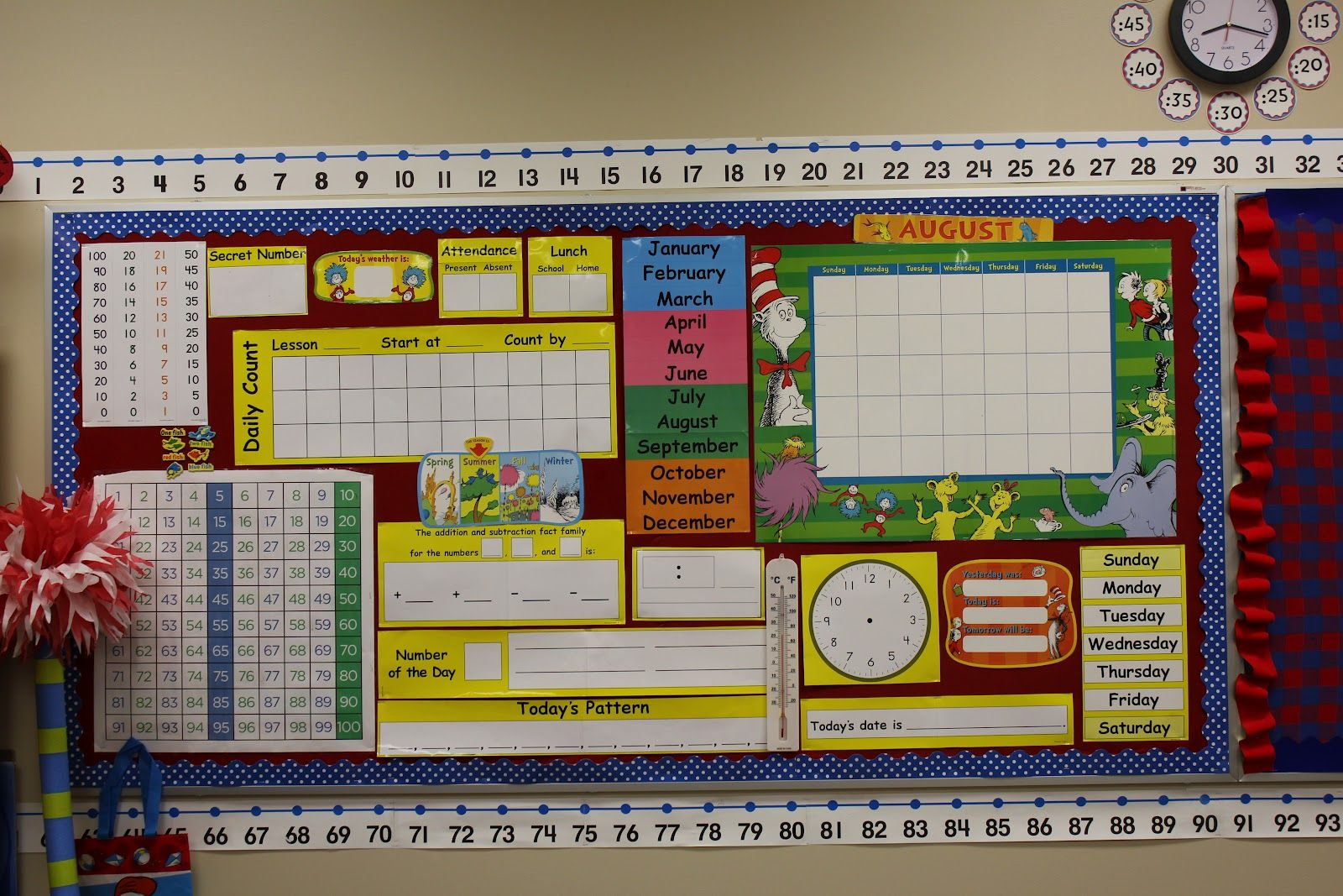 3rd Grade Math Bulletin Board
