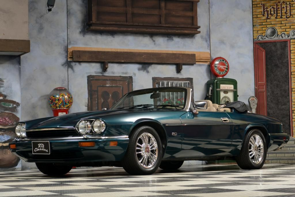 1994 jaguar xjs convertible oldtimer kaufen de autos. Black Bedroom Furniture Sets. Home Design Ideas
