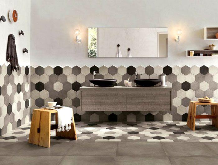 How To Achieve Beauty With Hexagon Bathroom Tile? | Industrial News ...