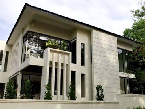 Desain Rumah Minimalis  Lantai Ber A Modern  Desain Rumah Minimalis  Lantai Pakai Atap