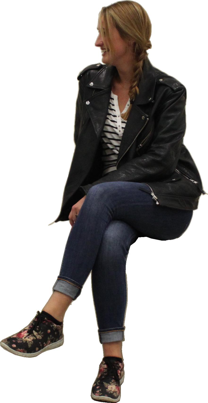 Sitting woman PNG | P S D | Pinterest