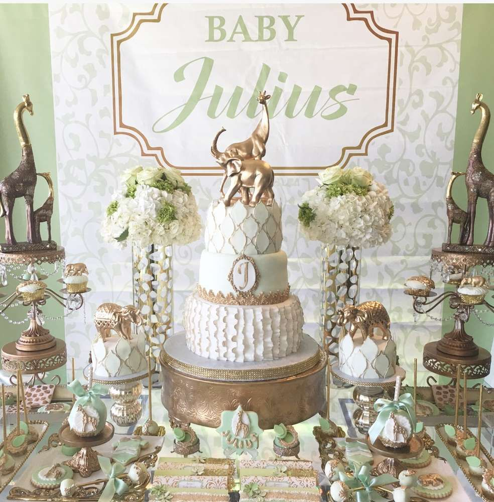 Nature Themed Baby Shower: Zafary Baby Shower Party Ideas