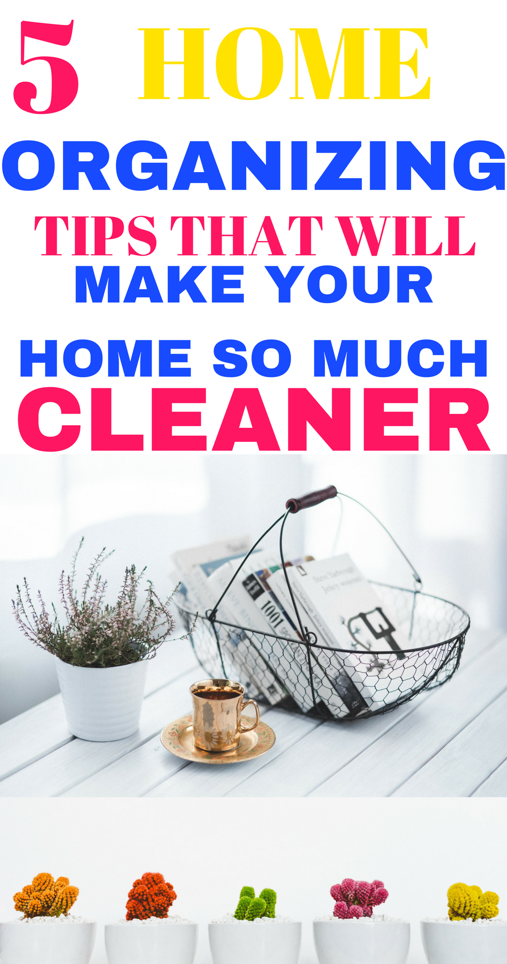 Things You Can Do Today To Organize Your Home