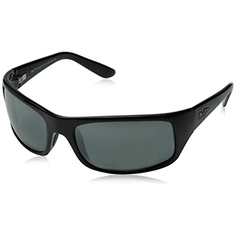 Peahi Computers Features Polarized SunglassesGloss Black