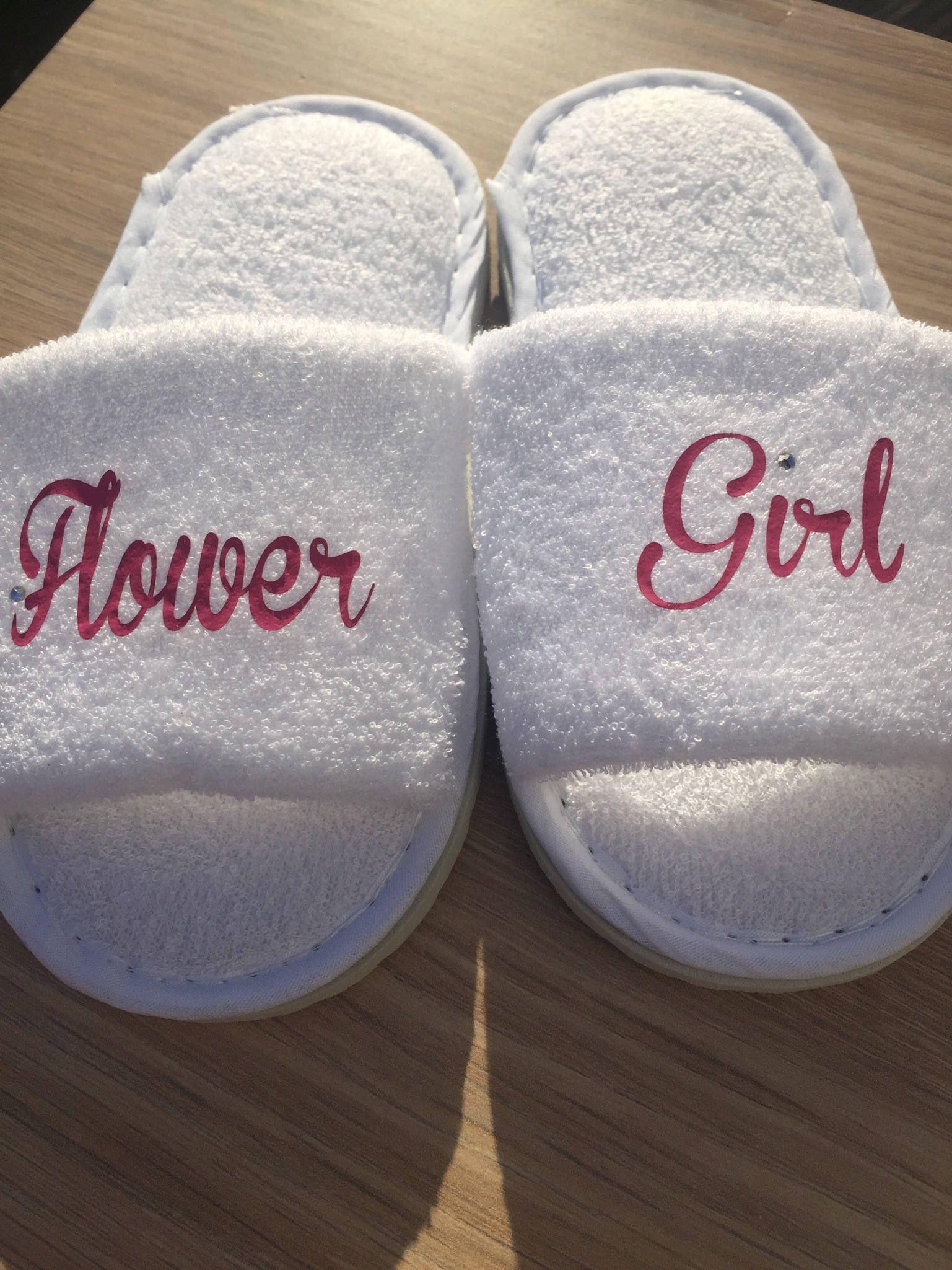 c6a420f1073d flower girl slippers