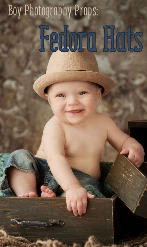 A newborn fedora hat is a cool addition to your baby boy photography props available in a variety of styles and colors to choose its premium quality cloth