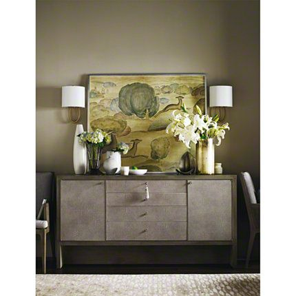 Baker Furniture : Carmel Console   3628 : Barbara Barry : Browse Products