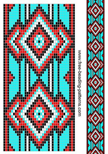 Image result for Free Loom Bead Patterns | patterns | Pinterest