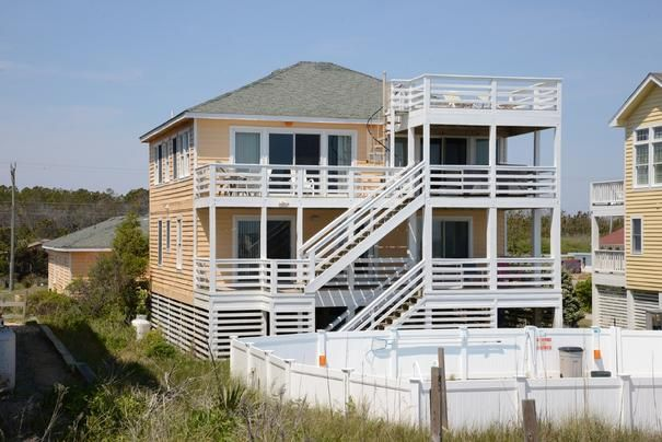 #070 Book this awesome vacation rental in Nags head! Includes discounted golf at Nags Head Golf Links!