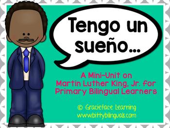 Martin Luther King Spanish Yo Tengo Un Sueno Pinterest Martin
