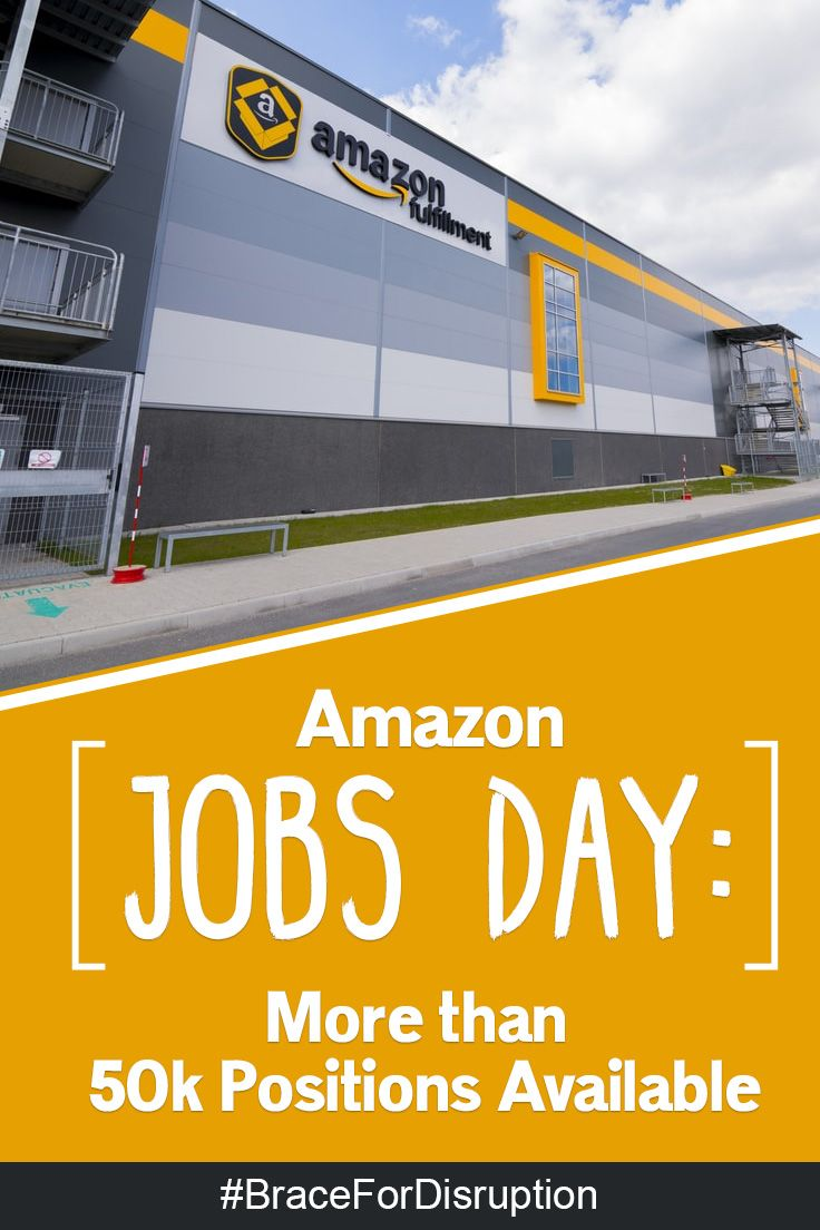 Amazon jobs day more than 50k positions available