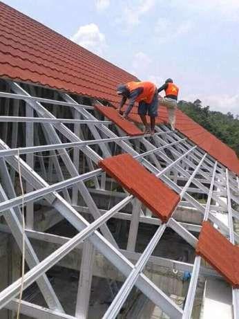 Baja Ringan Banjarmasin Perusahaan Advertising Reklame Steel Buildings Roof