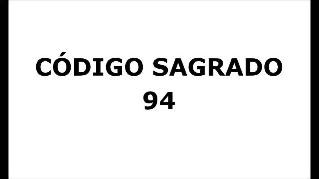Codigo Sagrado 94: Pié Derecho