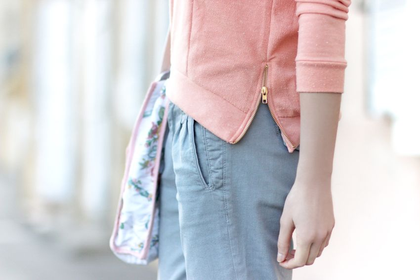 sweat Karl marc john pastel street look / pastel colors / Artlex fashion blog / Fashion blogger / W/@Karl Marc John