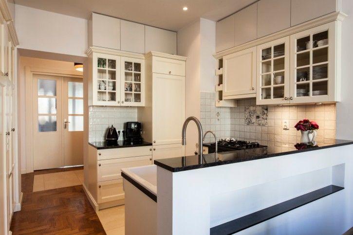 Kleine moderne Küche mit Halbinsel | 36 Wunderschöne Weiße Luxus ...