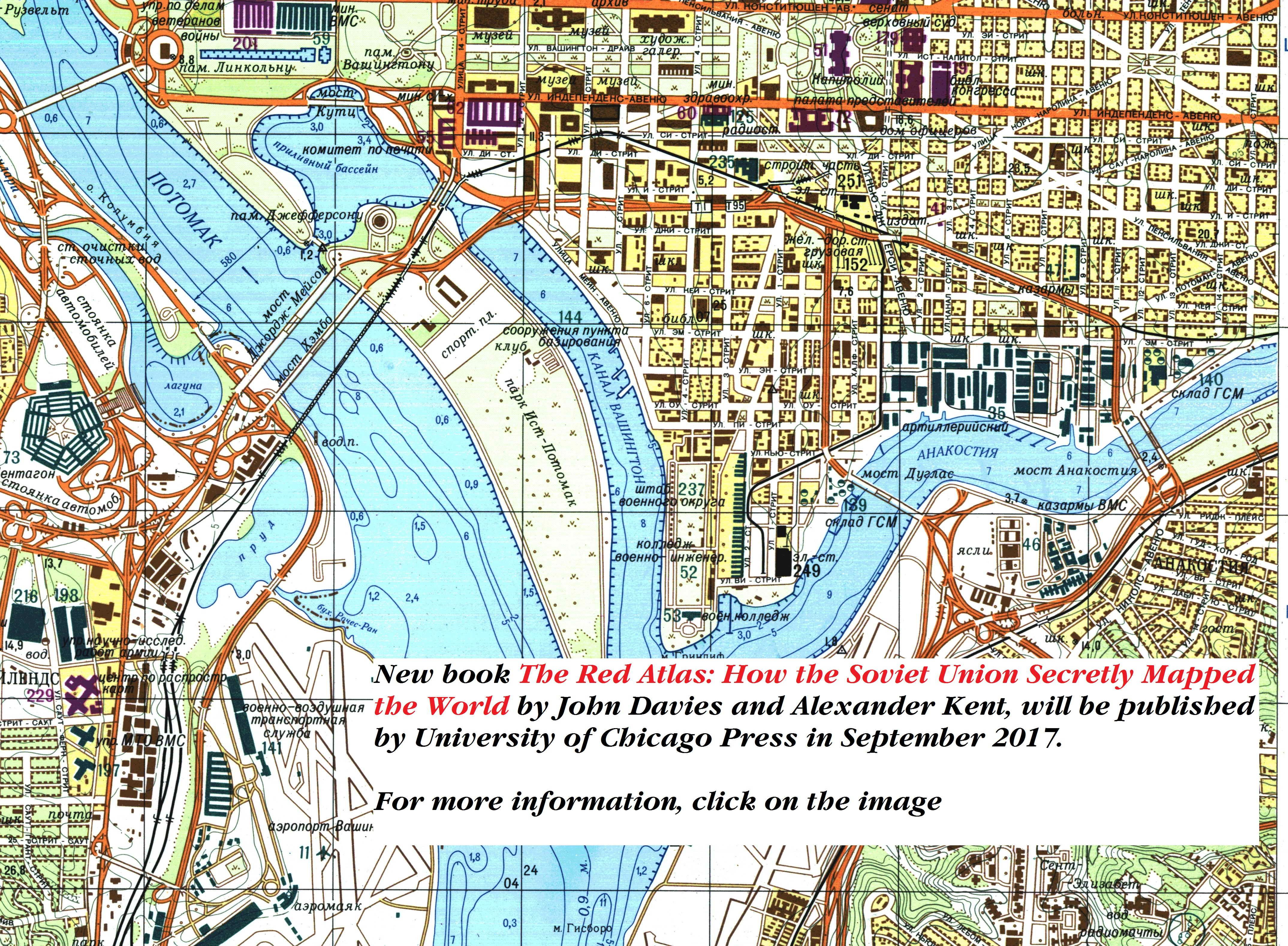 Topographic Map Washington Dc.Soviet Military Topographic Maps Of Britain And The World Soviet