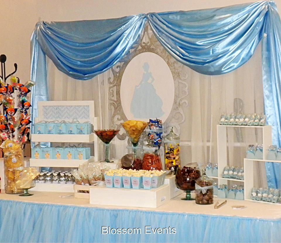Candy Bar La Cenicienta In 2019 Candy Table Decorations