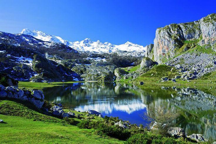 Lo Mejor Que Ver En Asturias Paisajes Y Pueblos Con Encanto Picos De Europa Asturias Picos De Europa Parques Nacionales