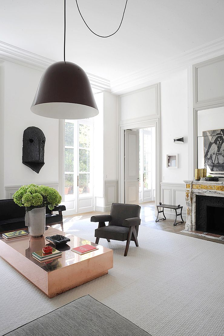 Paris Living Room Decor Paris Apartment By Joseph Dirand Architecture Interiors