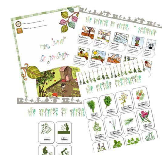 Bien-aimé Projet de classe 2015 - Jardiner à l'école   thème biodiversité  ZN21