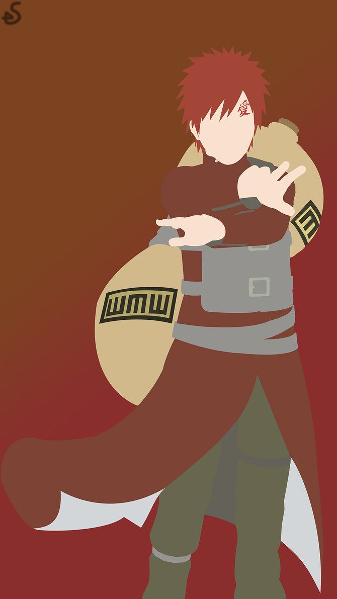 Gaara Of The Desert Naruto Phone Wallpaper By Shogunarts98 On