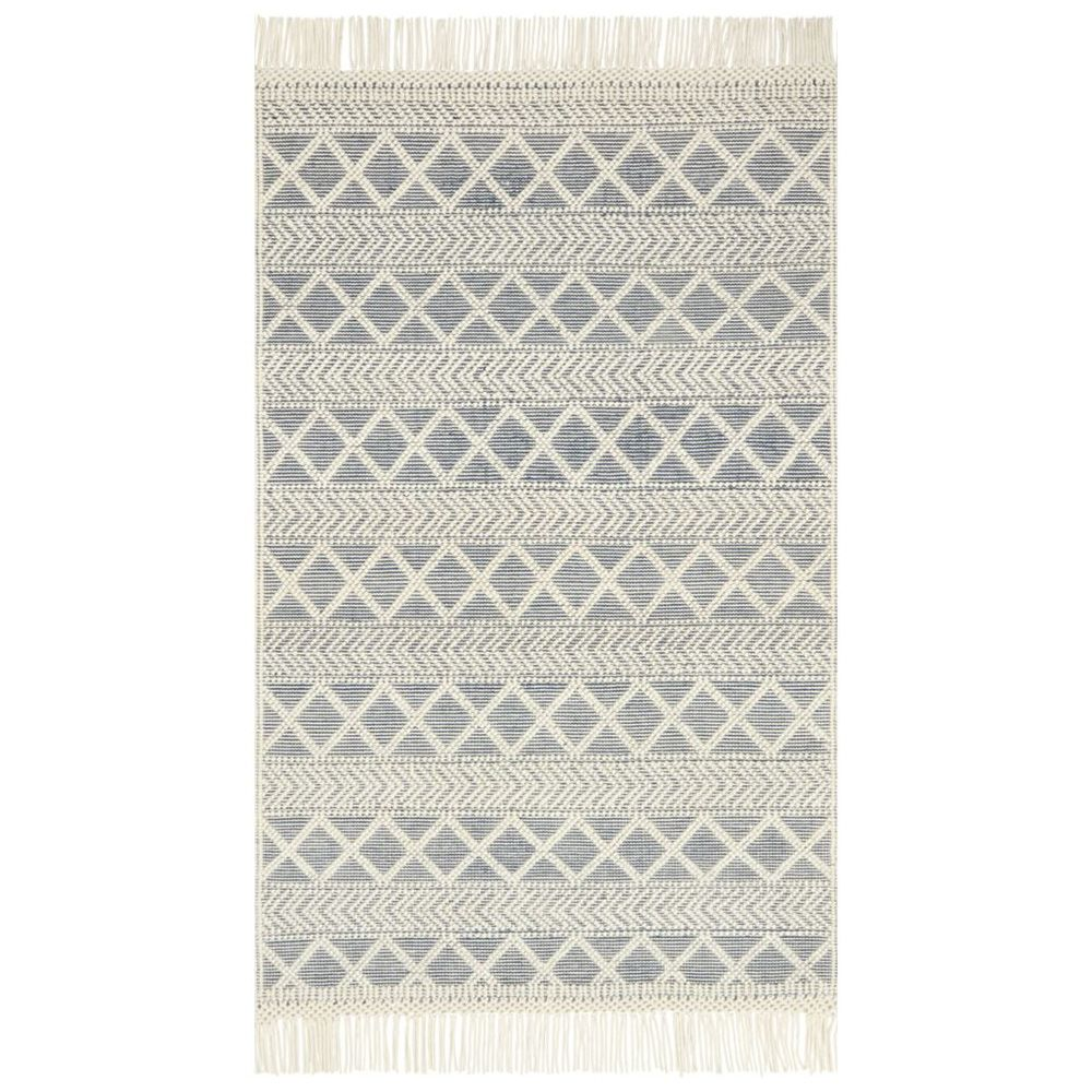 Magnolia Home Holloway Rug By Joanna Gaines Navy Amp Ivory