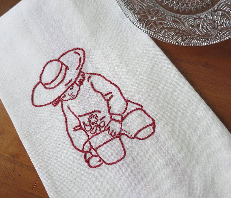 Crossroads Embroidery Series Back Stitch Textile Techniques