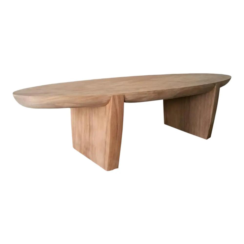 Organic Modern Monkey Pod Cigar Coffee Table Chairish Coffee Table Table Organic Coffee Table [ 1000 x 1000 Pixel ]