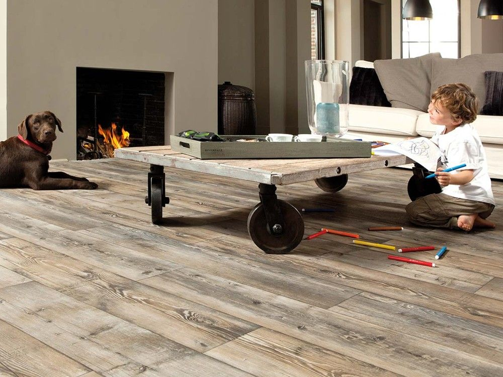 Robuuste pvc vloer deco flooring living room and home