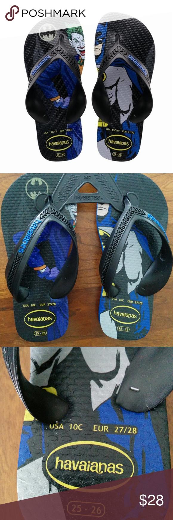 deb1d16dbf159 Havaianas Flip Flops KIDS Batman Joker 3 Years Beautiful Flip Flops for  your Kids. Comfortable