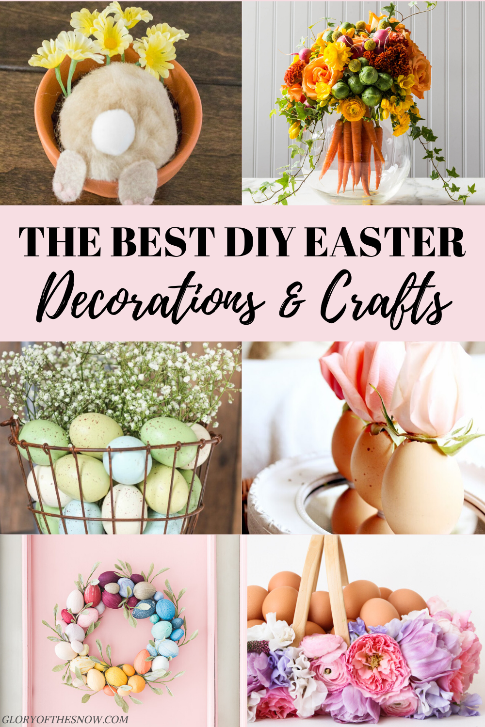 The Most Beautiful Diy Easter Decorating Ideas Glory Of The Snow Diy Easter Decorations Easter Diy Rustic Easter Decor