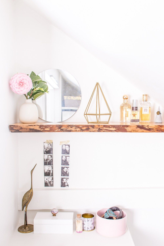 How to Hang Solid Wood Floating Shelves Floating shelves