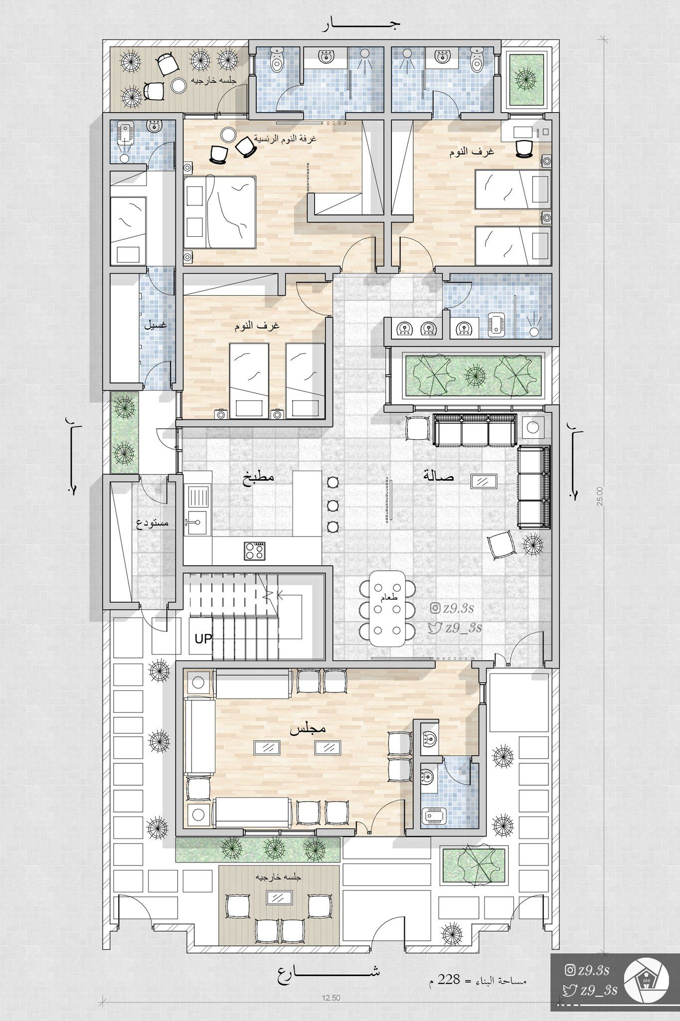 Pin By Abdulkhaliq On Housing Family House Plans New House Plans Architecture House
