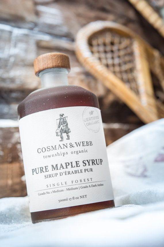 46a6f92580d Pure Organic Maple Syrup. Unblended   Single Forest from Quebec ...