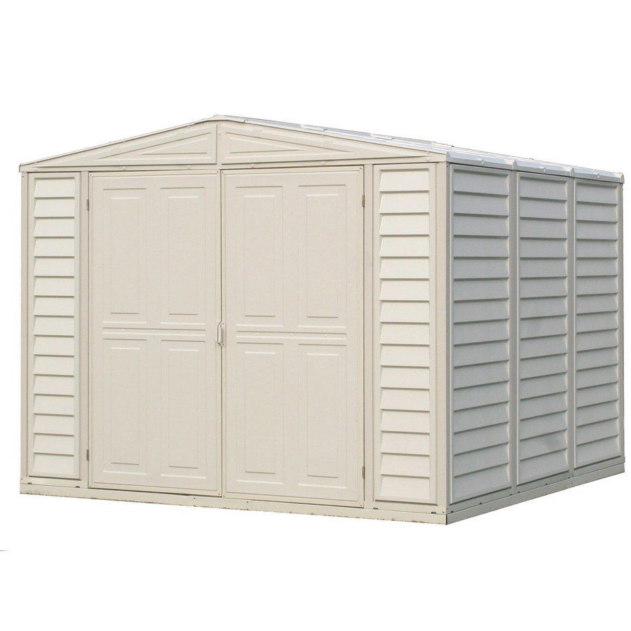 Ordinaire DuraMax Building Products Storage Shed (Common: 8 Ft X 8 Ft;