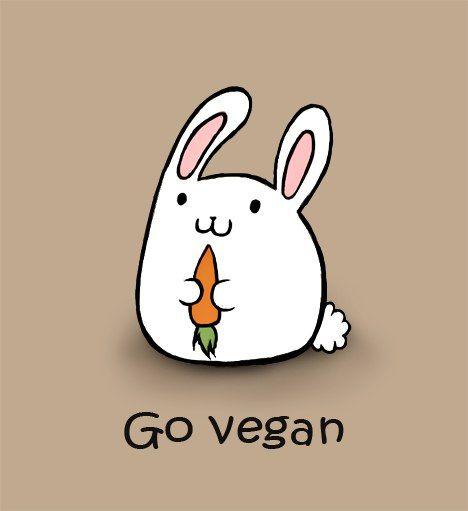 Go vegan by ElenaKundyus