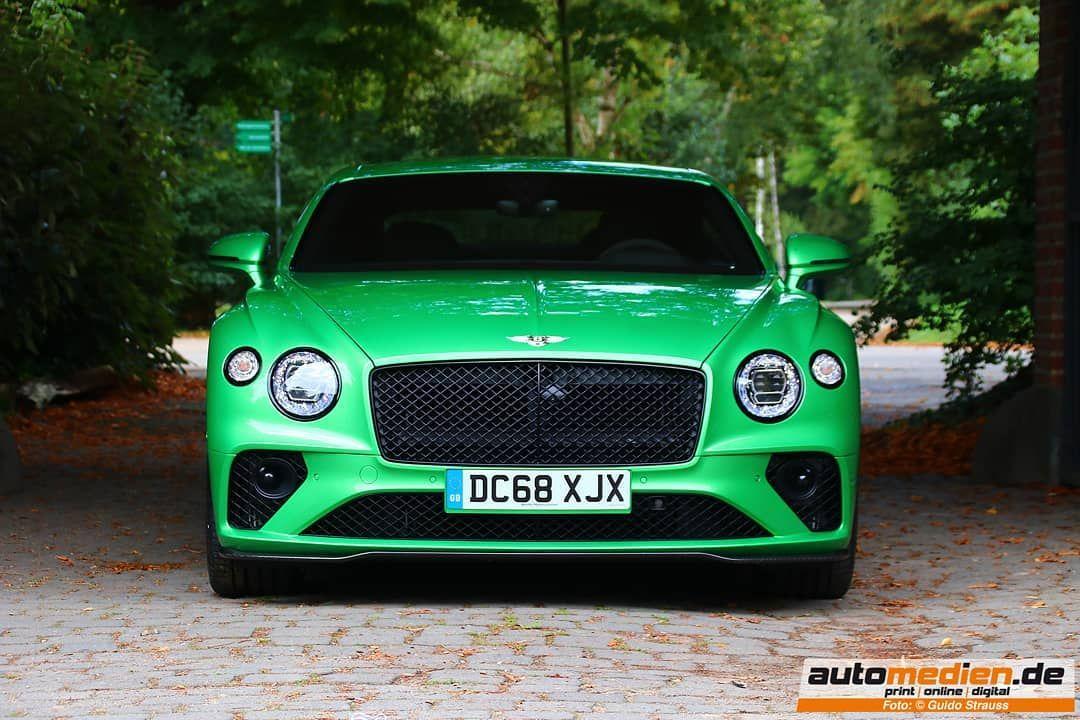 Der Neue Bentley Continental Gt In Applegreen 635 Ps 467 Kw Aus