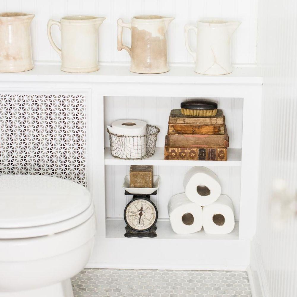 Rangement WC : idées pratiques pour toilettes | Rangement wc, Idée déco toilettes, Toilettes