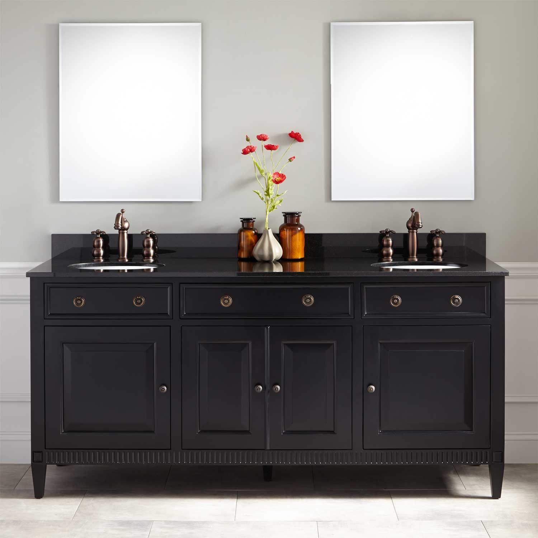 Bellaterra Home 203107 D 80 7 Inch Double Sink Vanity Bellaterra