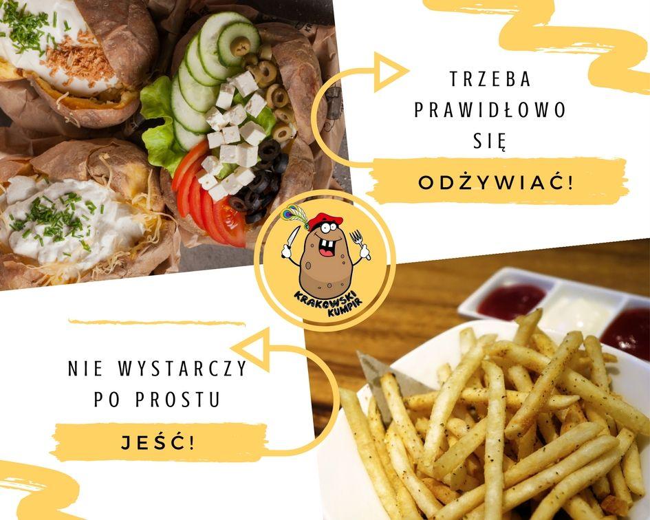 Witaminy Mineraly Energia I Malo Kalorii Jedz Kumpira Na Zdrowie Zapraszamy Krakowskikumpir Kumpir Bar Pieczonyziem Potato Recipes Food Food Truck