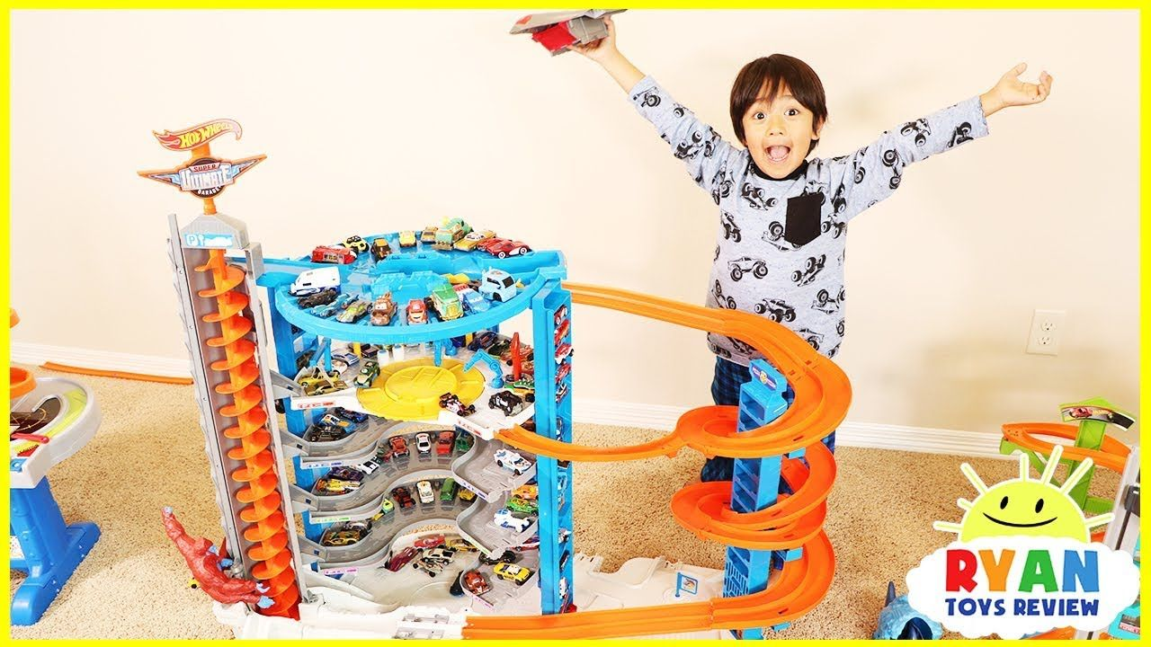 Biggest Hot Wheels Super Ultimate Garage Playset With Ryan S Toy