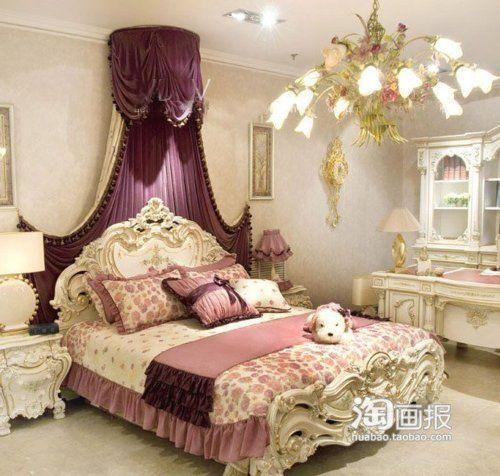 Elegant Girl Bedroom