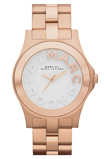 MARC BY MARC JACOBS 'Rivera' Round Bracelet Watch | Nordstrom