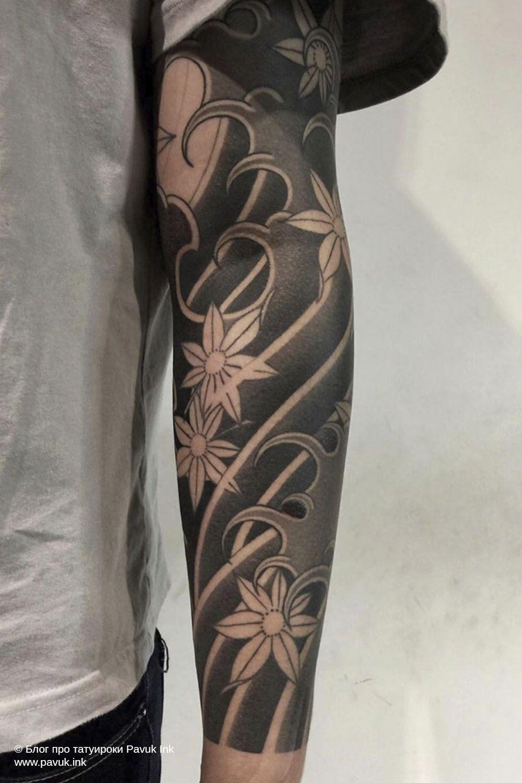 Ориентал: японский стиль тату Ирезуми