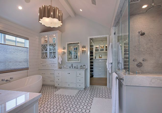 Master Bathroom Lighting Is From Visual Comfort All Cabinet - Custom bathroom lighting
