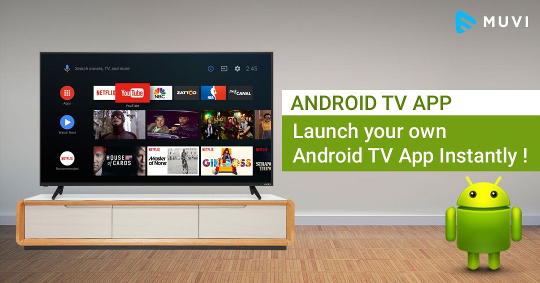 Build Android TV based Video Streaming Apps for Android TV